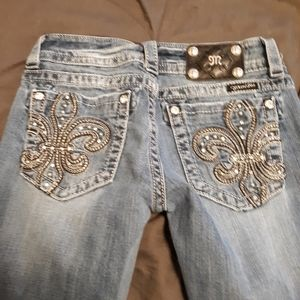 Barely worn Miss Me jeans